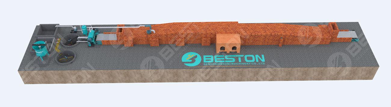 Beston Машина для производства ящиков для яиц на продажу