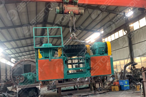 Beston Tyre Cuting Machine Delivered to Brazil