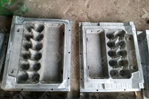 Форма ящика для яиц