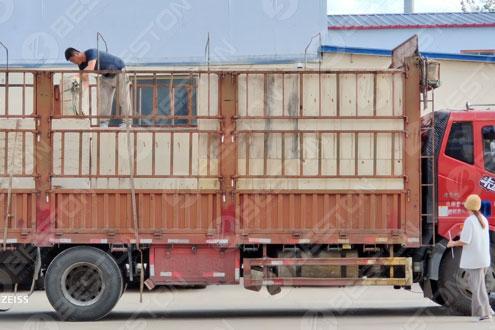 Машина для изготовления лотков для яиц доставлена в Бурунди