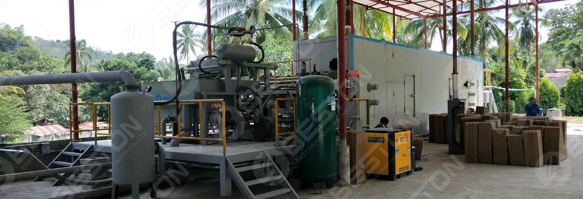 Получите подходящую линию по производству целлюлозы от производителей машин для формования бумажной массы