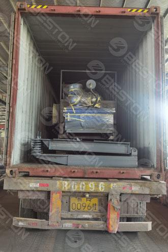 Пиролизная машина доставлена в Марокко