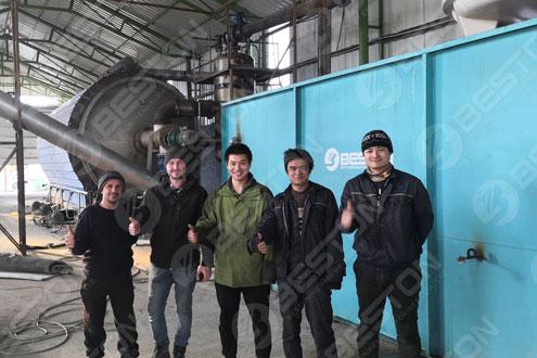 Корпус пиролизного завода