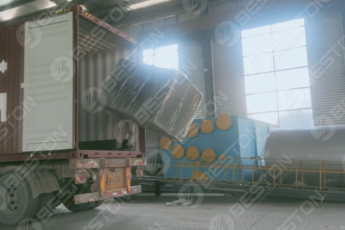 Atomized Water Tower of Pyrolysis Plant Delivered to Ukraine