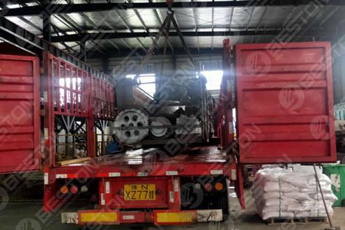 BLJ-12 Pyrolysis Machine Exported to Nigeria