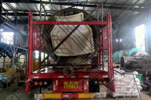 BLJ-12 Pyrolysis Plant Shipped to Nigeria