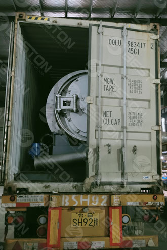 BLJ-3 Mini Pyrolysis Machine Shipped to Spain