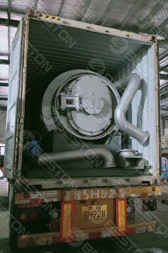 BLJ-3 Mini Pyrolysis Plant Shipped to Spain