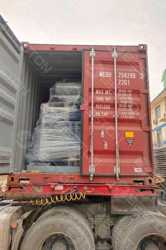 Машина для производства ящиков для яиц BTF1-4 отправлена в Боливию