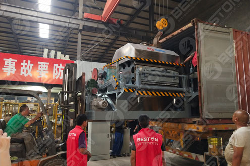 BTF4-8 Ovum Tray Faciens Equipment Tray ad Mozambique