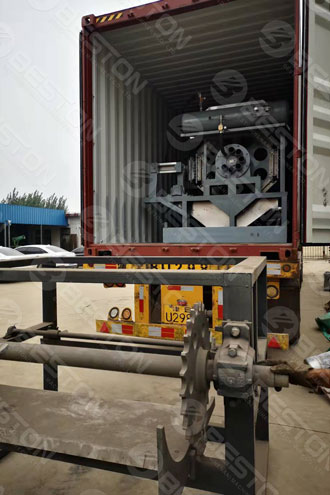 BTF4-8 Paper Egg Tray Condita Machina LIBERATUS ad Senegal
