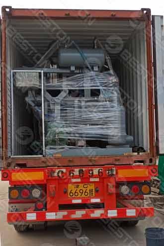 Beston Машина для производства ящиков для яиц отправлена в Колумбию