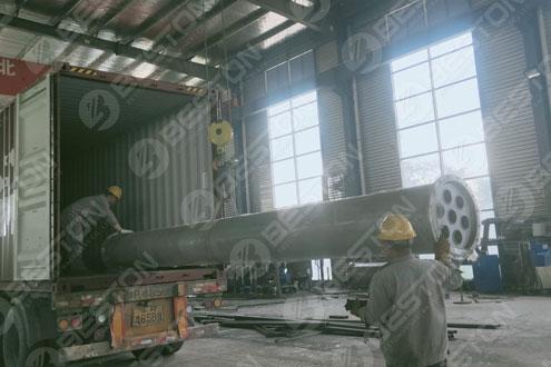 Condenser of Pyrolysis Equipment Shipped to Ukraine
