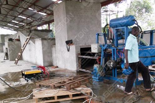Ovum Tray linea siccatio Installed in Uganda