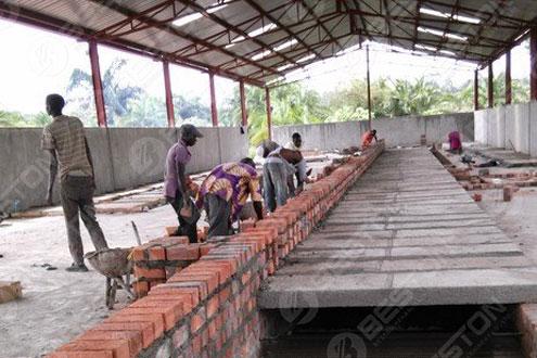 Beston Ovum Tray Machina Installed in Uganda