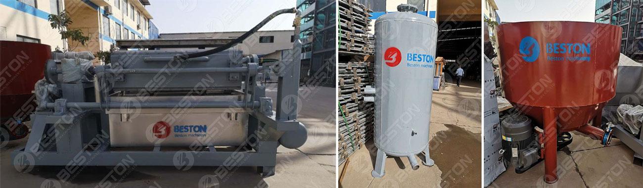 Egg Tray Making Machine was Shipped to Nigeria