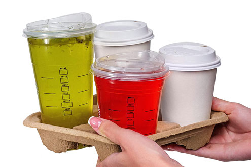 Поднос для чашки сока