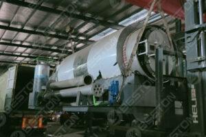 Mini Pyrolysis Reactor Shipped to Spain