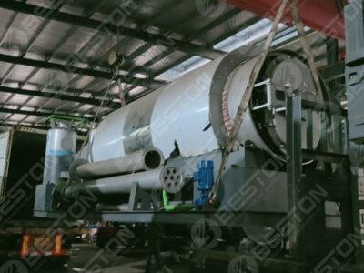 Mini Pyrolysis Reactor Traba to Spain