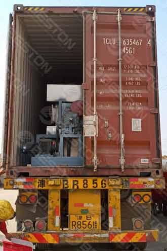 Машина для изготовления бумажных ящиков для яиц отправлена в Ботсвану