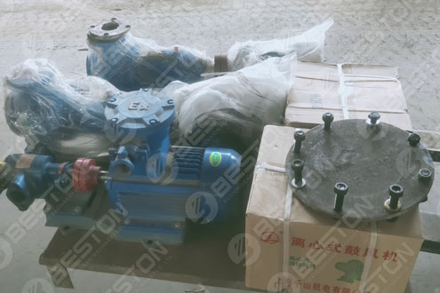 Parts of Pyrolysis Plant Shipped to Ukraine