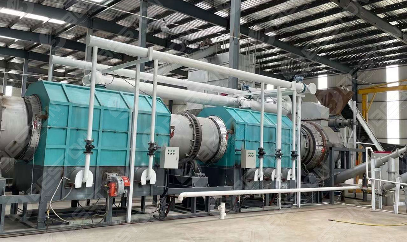 Wood Charcoal Making Machine Shipped to Lianyungang