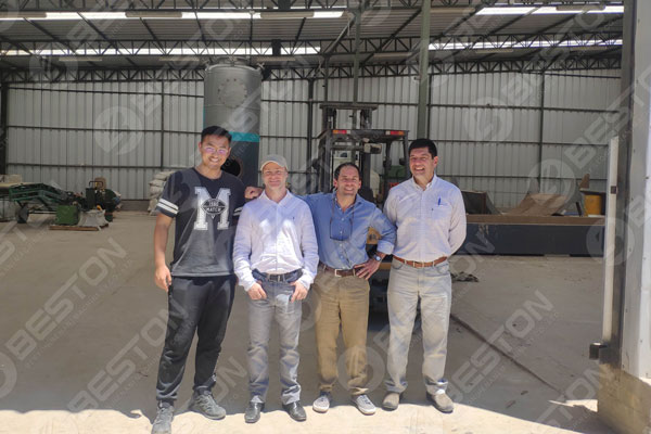 parabilis Beston Tires Pyrolysis Planta ad Chile Customer