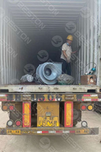 BTF4-4 Egg Tray Equipment Shipped to Zambia