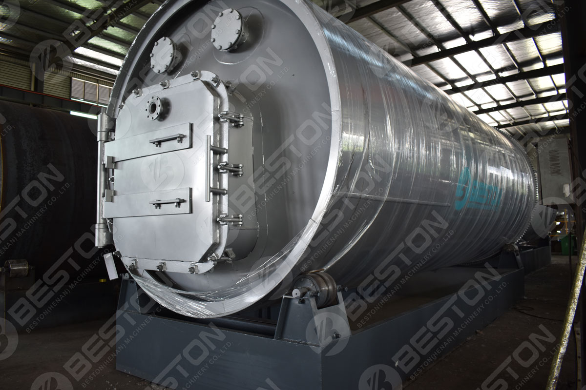 Beston Tyre Pyrolysis Reactor with Customized Service