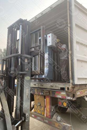 Paper Egg Tray Making Machine Shipped to Zambia