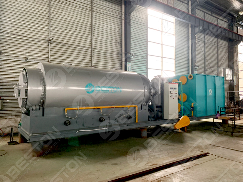 Waste Tyre Pyrolysis Plant – Mobile Models